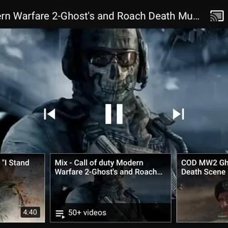 Call Of Duty Modern Warfare 2 Ghost S And Roach Death Mu ªi E Ifunny