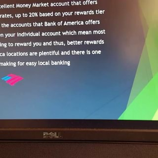 Money Market account that offers, astonishingly high Interest rates, up to  20% based on your rewards tier, the bank  Most of the accounts that Bank of  America offers, most, m,  , has an, Excellent,