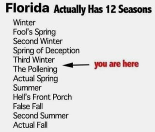 Image result for florida's 12 seasons