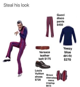 yeezy belt