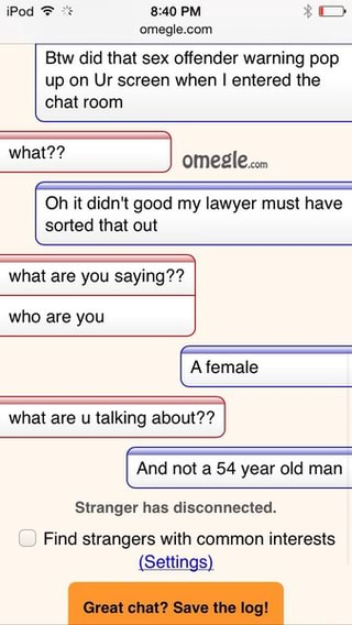 omegle sex offender