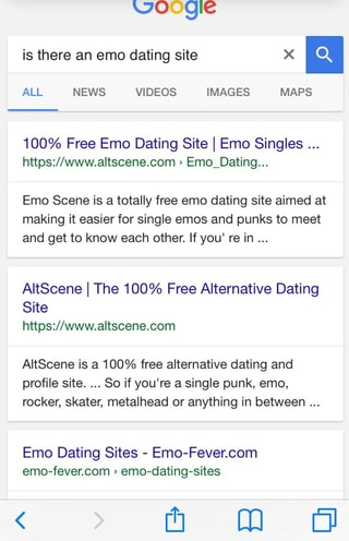 Emo Dating Service