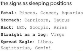 Sleeping spread eagle