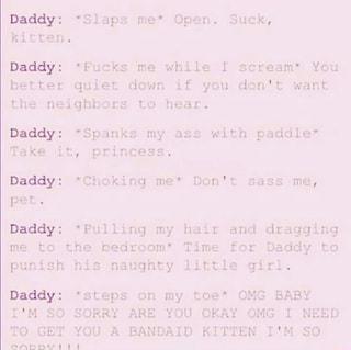 Daddy Slaps Me Open Suck Kitten Daddy Fucks Me While I