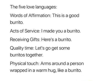 The Five Love Languages Words Of Affirmation This Is A Good