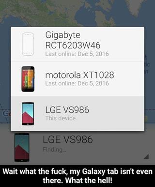 Gigabyte RCT6203W46 motorola XT1028 LGE V8986 Wait what the