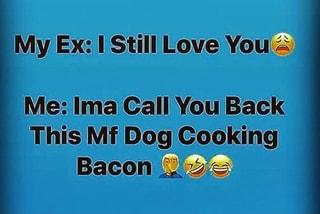 My Ex: I Stil\l Love You ?: Me: Ima Call You Back This Mf