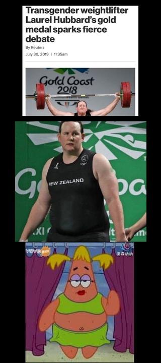 Transgender weightlifter Laurel Hubbard's gold medal ...