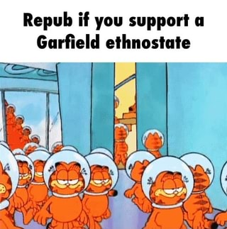 Repub If You Support A Garfield Ethnostate Ifunny