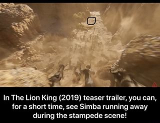 In The Lion King 2019 Teaser Trailer You Can For A
