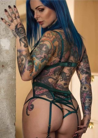 Amateur Inked Girls Bigt Vipergirls To 1