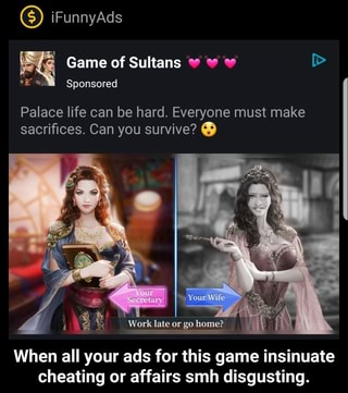 When All Your Ads For This Game Insinuate Cheating Or Affairs Smh Disgusting When All Your Ads For This Game Insinuate Cheating Or Affairs Smh Disgusting Ifunny