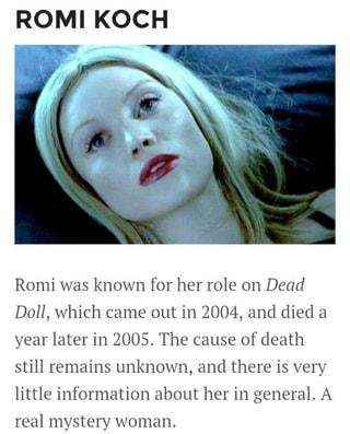 romi koch death cause