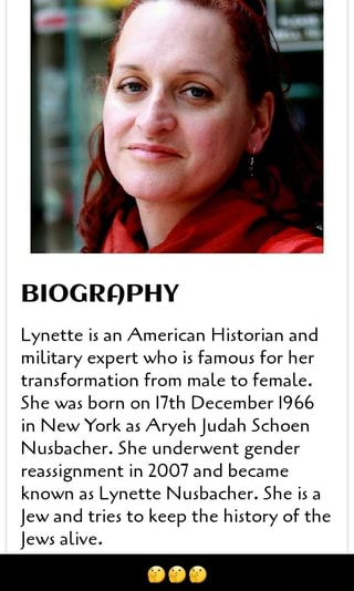 BIOGRQPHY Lynette is an American Historian and miLitary