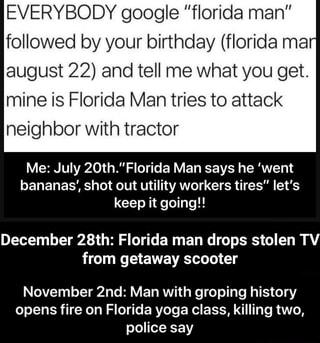 Florida man november 22