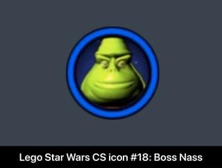 Lego Star Wars Cs Icon 18 Boss Nass Lego Star Wars Cs