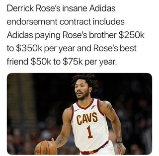 adidas derrick rose brother