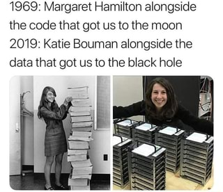 Image result for katie bouman and margaret hamilton
