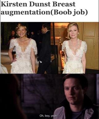 kirsten dunst get a boob job
