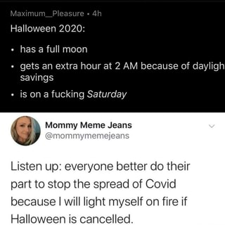 Halloween 2020 Extras Halloween 2020: has a full moon gets an extra hour at 2 AM because