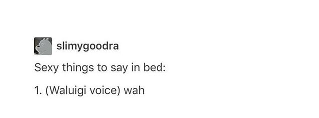 Sexy things to say in bed