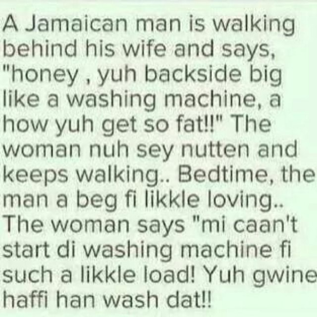 For jamaican wife a looking man Ten THINGS
