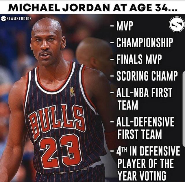 MICHAEL JORDAN AT AGE 34 - iFunny :)