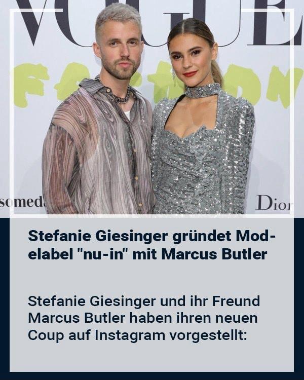 Freundin giesinger khedira sami stefanie Stefanie Giesinger: