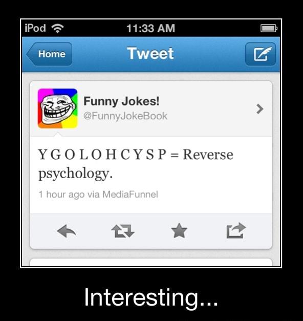 Psychology jokes reverse Top 10