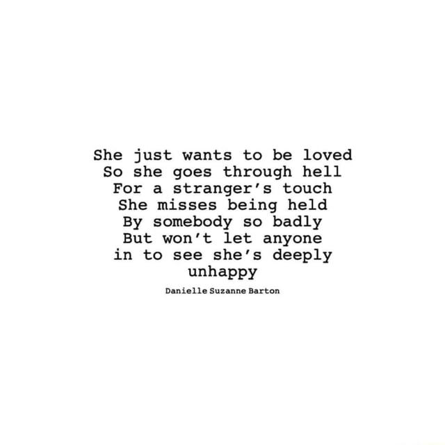 Be she to just loved wants 9 SIGNS