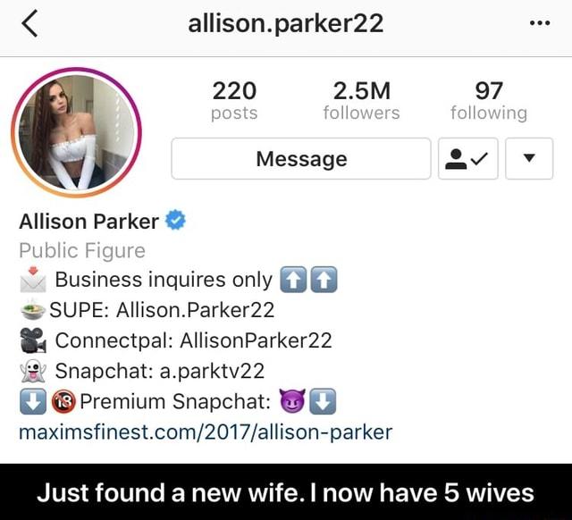 Snap allison parker Alison Parker