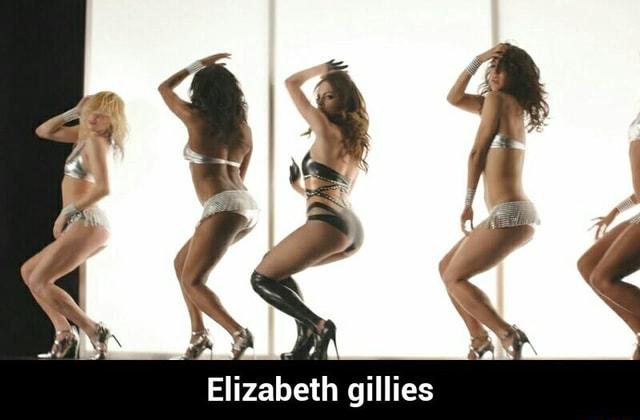 Gillies porno elizabeth Elizabeth Gillies
