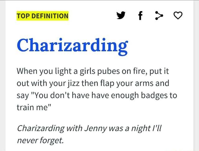 Charizarding