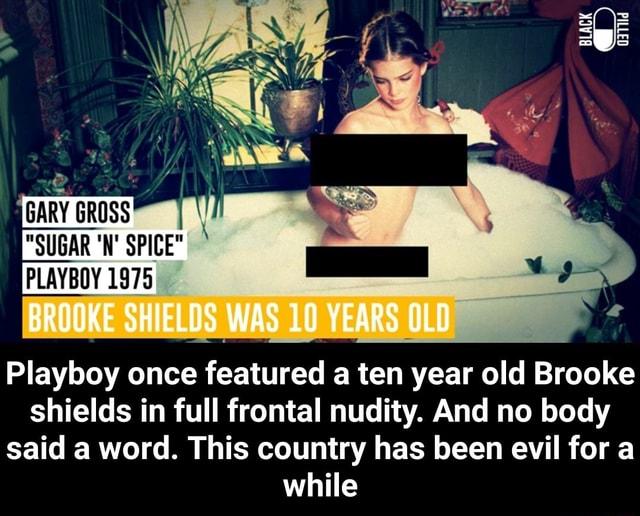 Playboy brooke shields Brooke Shields