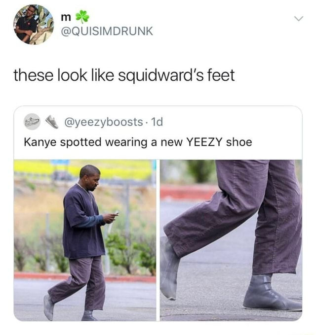 YEEZY shoe - iFunny