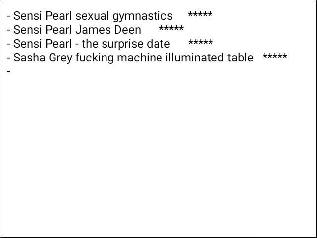 Sensi pearl