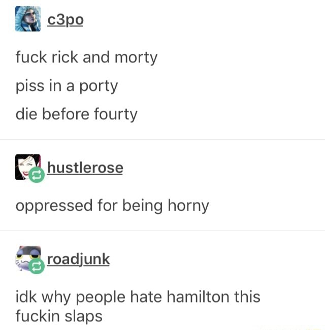 Horny people being Why Do