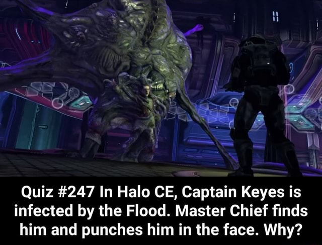 Halo Captain Keyes Flood
