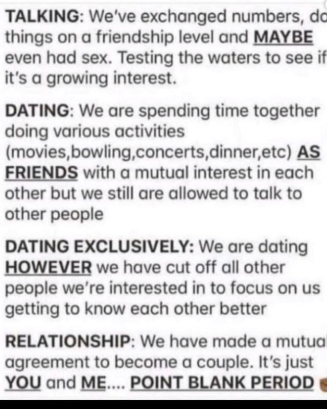 some sort of dating sites support