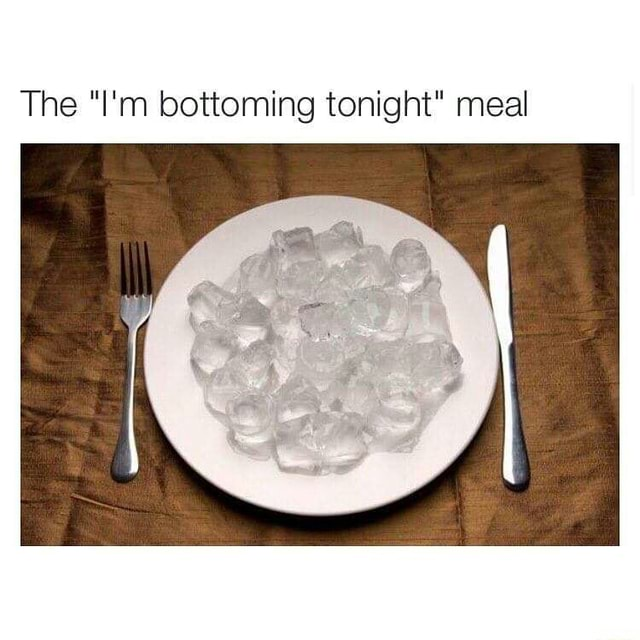 What To Eat Before Bottoming