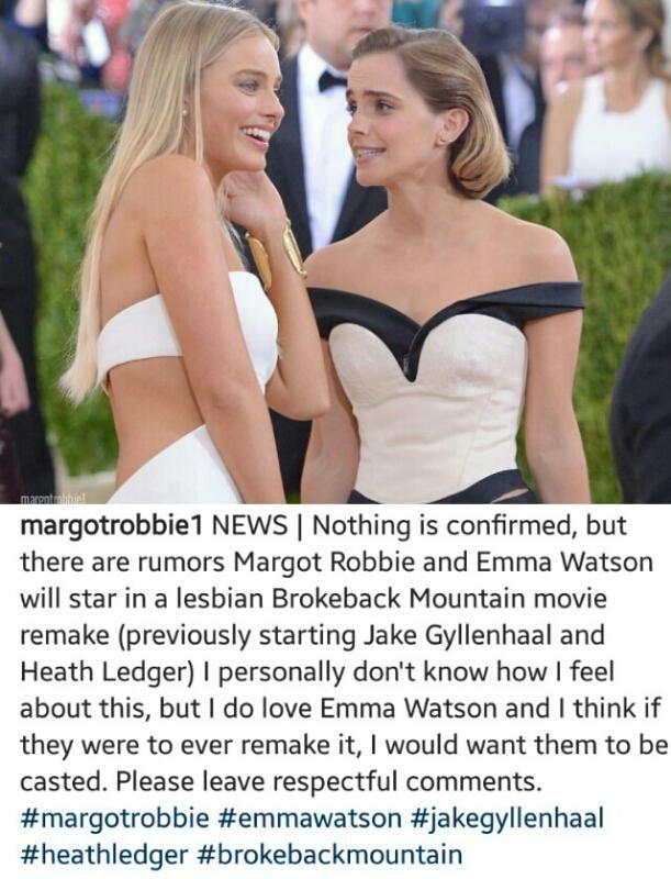 Lesbian emma watson Emma Watson