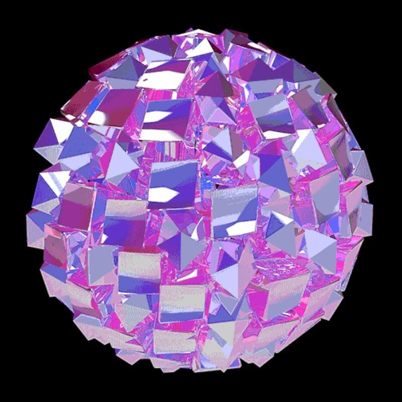 гиф картинка кристалл это настолько красивое