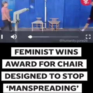 Feminist Wins Award For Chair Designed To Stop Ifunny